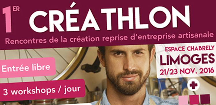 1er Créathlon : rencontres de la création reprise d'entreprise artisanale