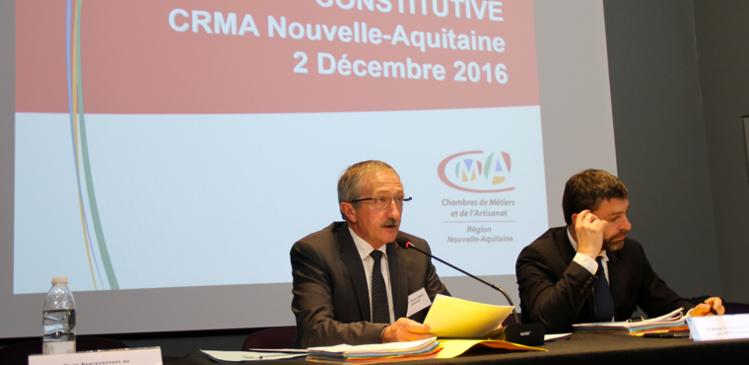 Jean-Pierre GROS, élu Président de la CRMA de Nouvelle-Aquitaine