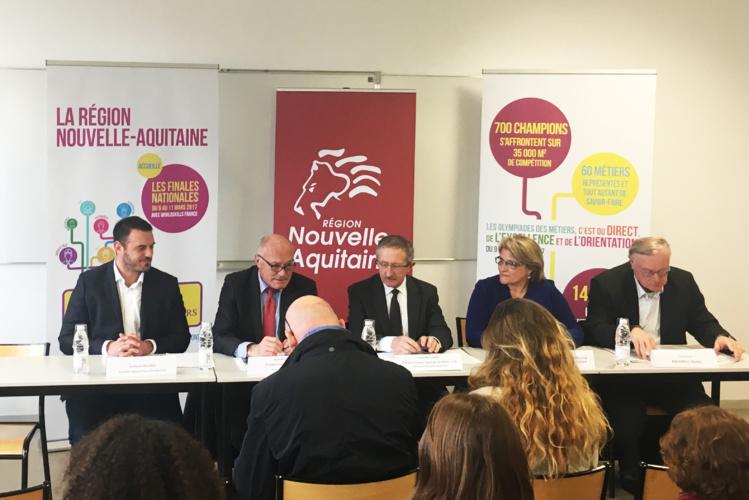 Conférence de presse du jeudi 02 mars à l'Institut des Saveurs de Bordeaux