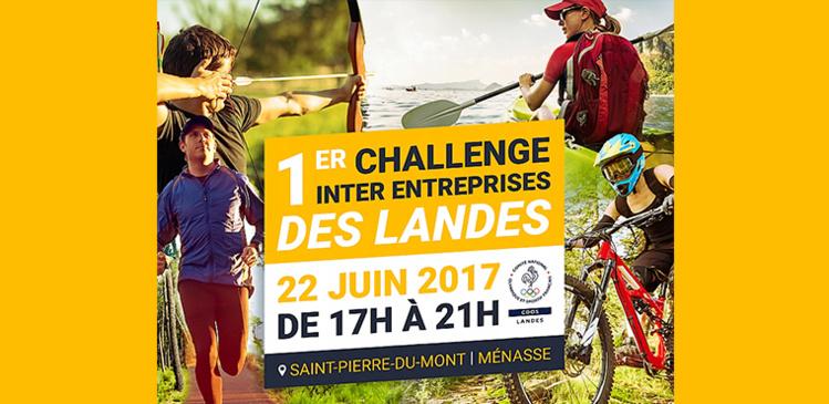Découvrez le 1er challenge inter entreprises des Landes !