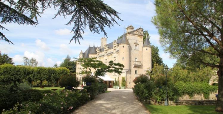 Le Château de la Villedieu de Comblé en Deux-Sèvres