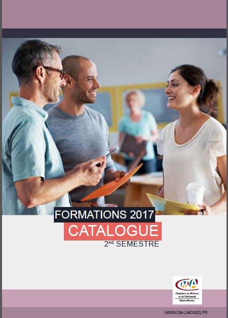 Découvrez les formations 2e semestre 2017