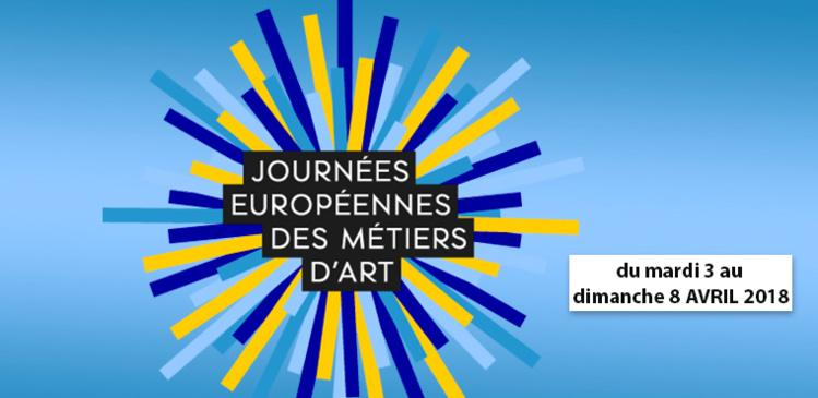 Presse : 12e Journées Européennes des Métiers d'Art : des rendez-vous d'exception, un week-end festif pour tous