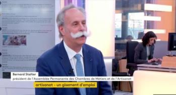 """VIDÉO Bernard Stalter s'exprime dans l'émission """":l'éco"""" de France Info"""