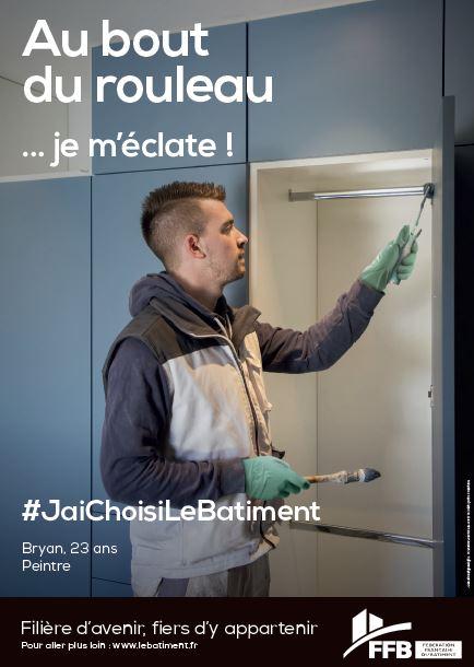 Le secteur du bâtiment lutte contre les idées reçues, avec la campagne #JaiChoisiLeBatiment