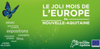 Du 1er au 31 mai, participez au joli mois de l'Europe en Nouvelle-Aquitaine
