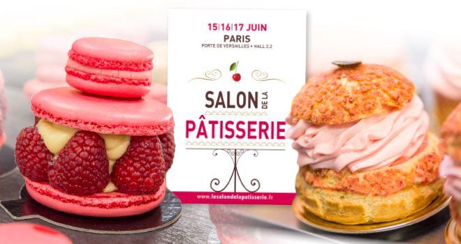 Premier Salon de la Pâtisserie, du 15 au 17 juin à Paris !