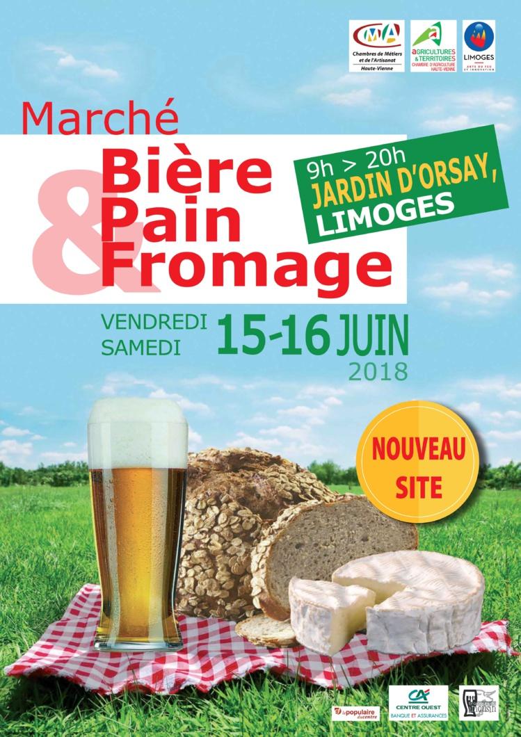 """Marché """"Bière, Pain & Fromage"""" à Limoges"""