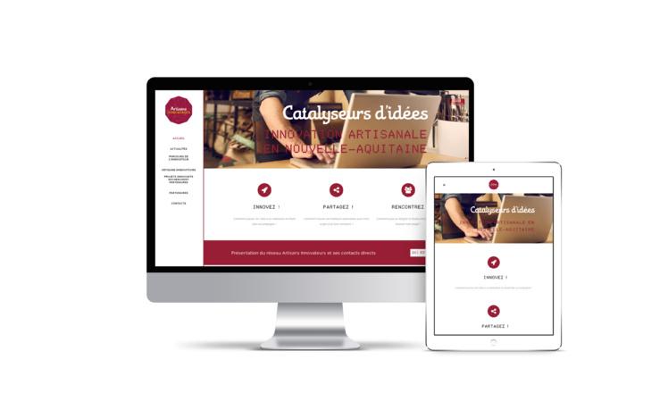 Un site web dédié à l'innovation artisanale en Nouvelle-Aquitaine