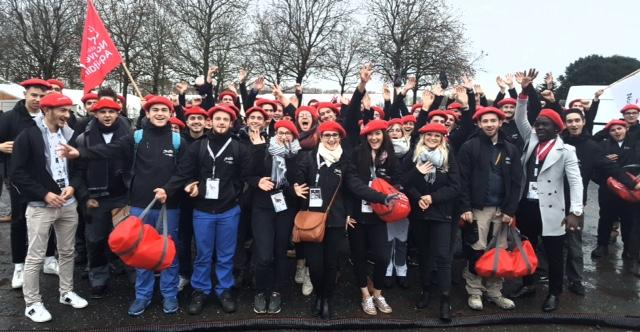 Olympiades : l'équipe Nouvelle Aquitaine est bien arrivée à Caen...