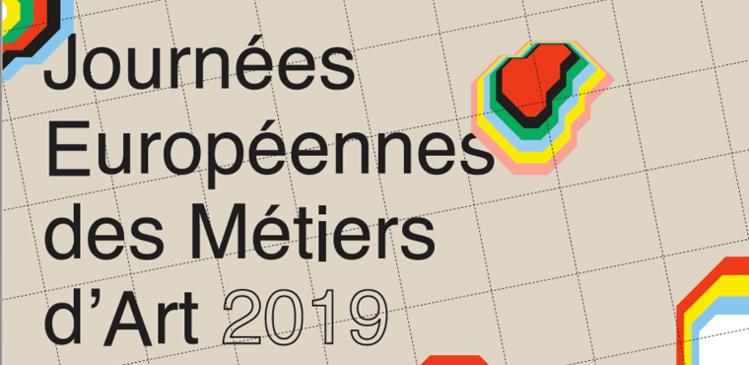 13e Journées Européennes des Métiers d'Art : des Rendez-vous d'Exception, un week-end festif pour tous