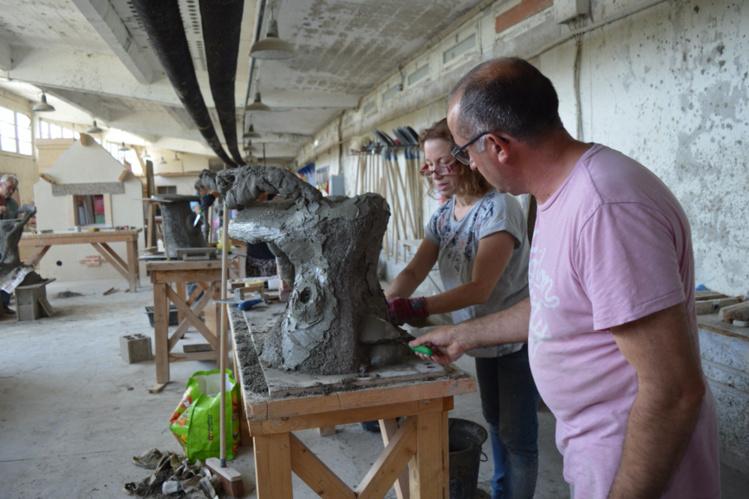 """Participez au stage """"Sensibilisation à l'Art de la Rocaille"""" du 24 au 28 juin 2019 !"""