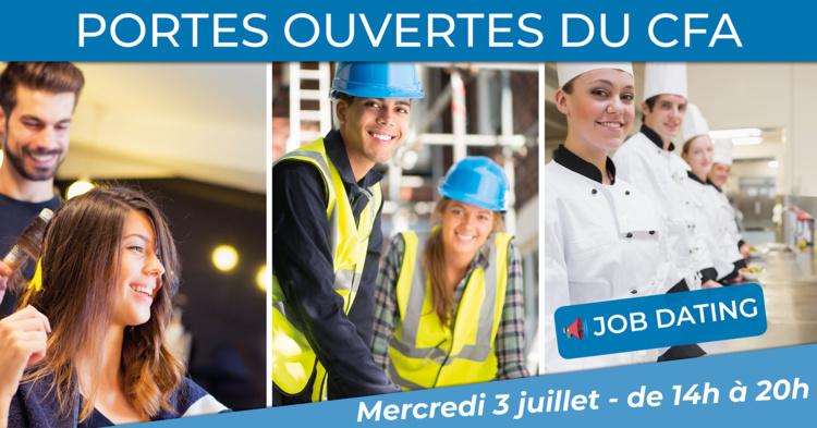 Portes Ouvertes des CFA de La Rochelle et Jonzac le 3 juillet !