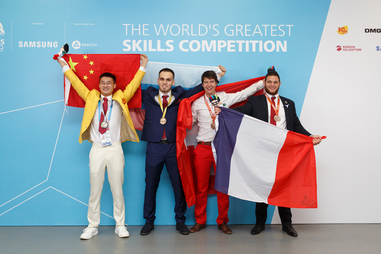Samy Trabelsi remporte le bronze aux Worldskills