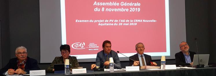 Réunis en Assemblée générale, les élus de l'artisanat dessinent les contours de la future CMA de région
