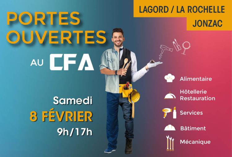 Portes Ouvertes du CFA – 8 février 2020 à La Rochelle et Jonzac
