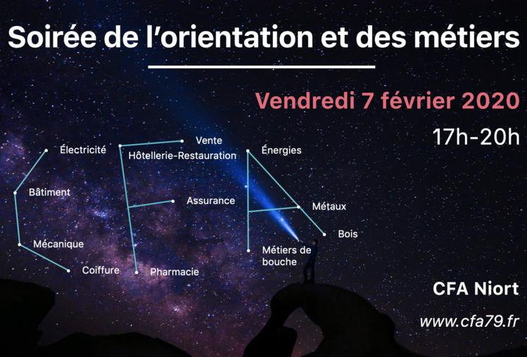 Soirée de l'Orientation et des métiers - Campus des métiers de Niort