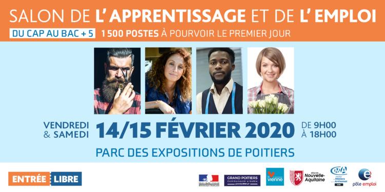 Le Salon de l'apprentissage et de l'emploi, les 14 et 15 février à Poitiers