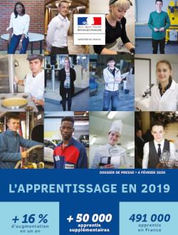 Apprentissage en 2019 : des chiffres en hausse partout en France !