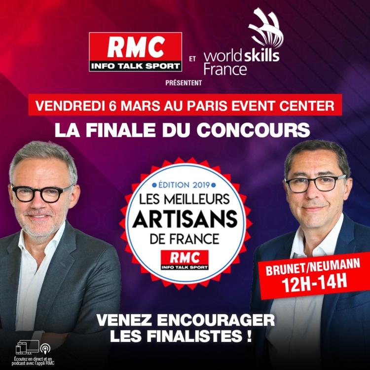 """8 artisans néo-aquitains en finale du concours """"RMC, Meilleurs Artisans de France"""""""