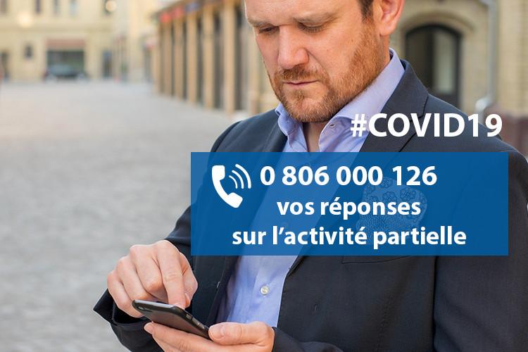 #COVID19 : un numéro régional unique pour vos questions sur l'activité partielle