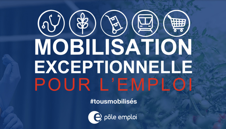 #COVID19 : #Emploi, mobilisation exceptionnelle pour les secteurs prioritaires