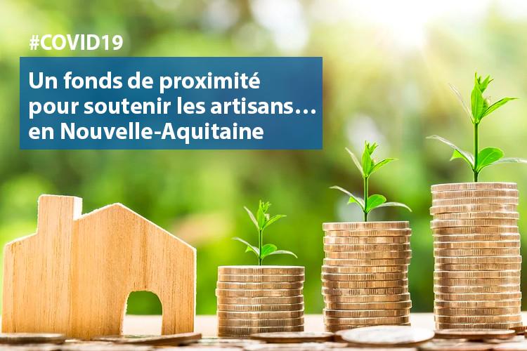 #COVID19 :  un fonds de proximité pour soutenir les commerçants, artisans, services et associations en Nouvelle-Aquitaine
