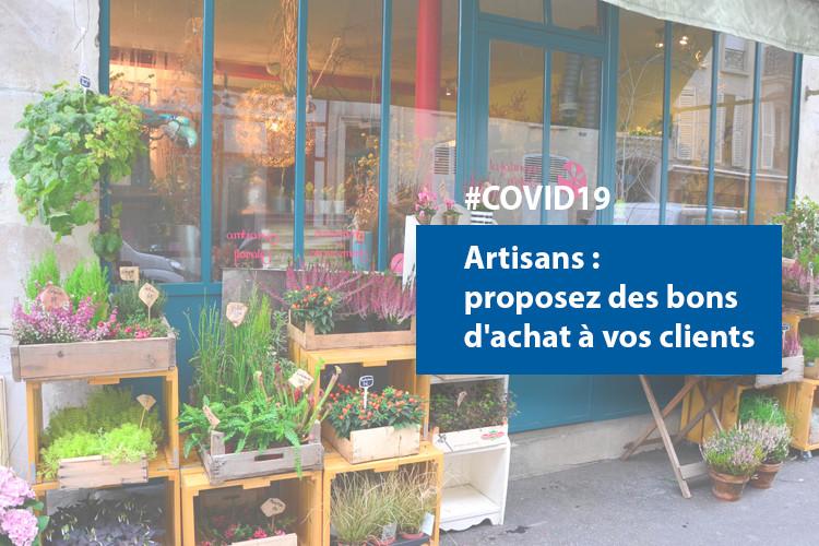 #COVID19 :  proposez des bons d'achat et recevez de la trésorerie immédiatement
