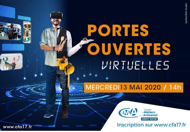 LIVE spécial Apprentissage le 13 mai - Portes Ouvertes du CFA 17