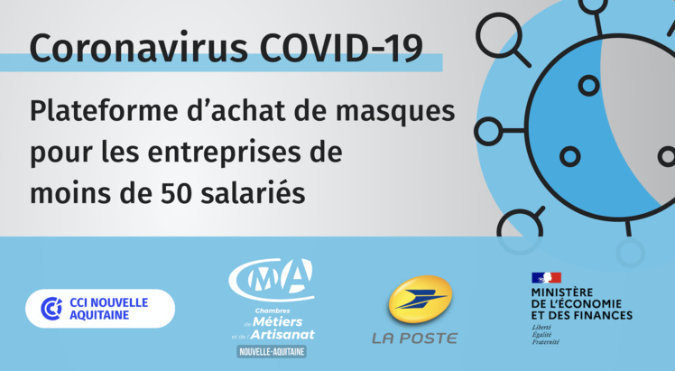 #COVID19 : Artisans, commandez vos masques sur la plateforme dédiée aux entreprises