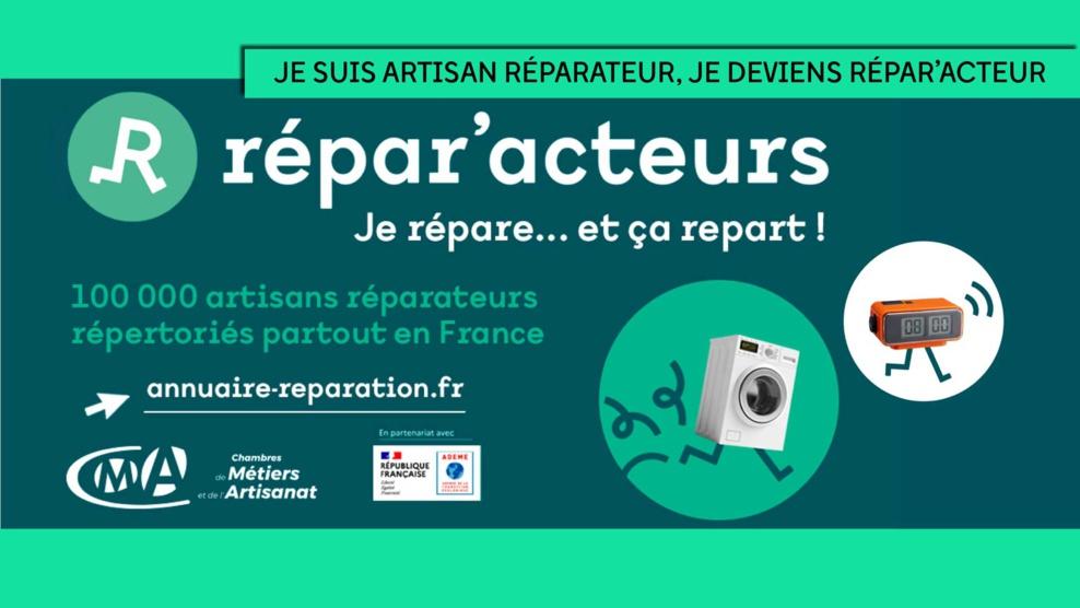 Les Répar'Acteurs® : une marque au service de la réparation et du développement durable
