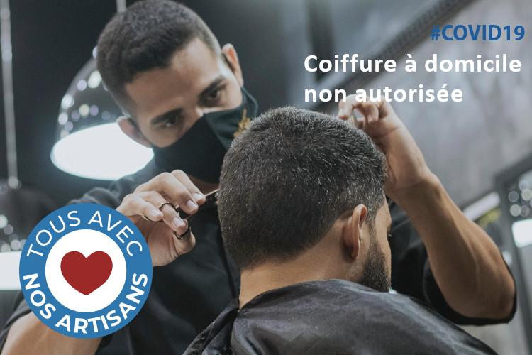 #COVID19 : la coiffure à domicile ne sera plus autorisée pendant le confinement