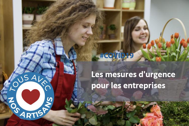 #COVID19 : Les mesures d'urgence pour les entreprises