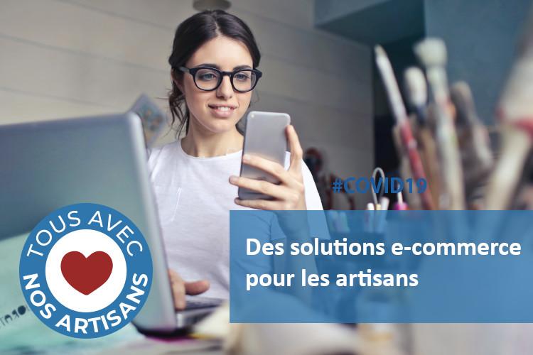 #COVID19 :  des solutions E-commerce spéciales pour les artisans