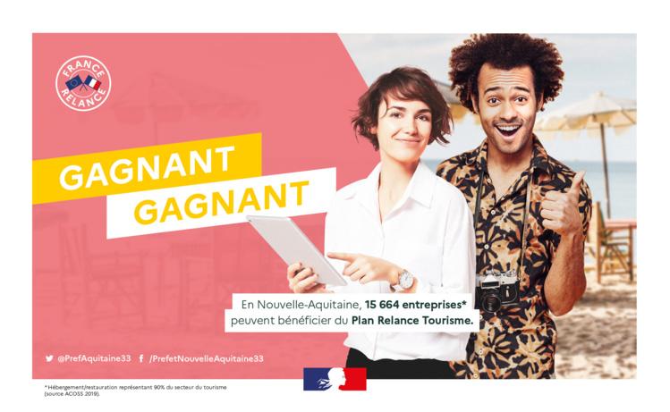 Acteurs du tourisme, ne passez pas à côté des aides France-Relance !