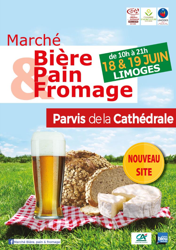"""Marché """"Bière, pain & fromage"""" à Limoges !"""