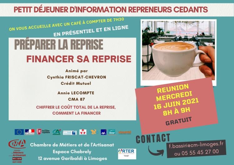 Réunion d'info Repreneurs / Cédants