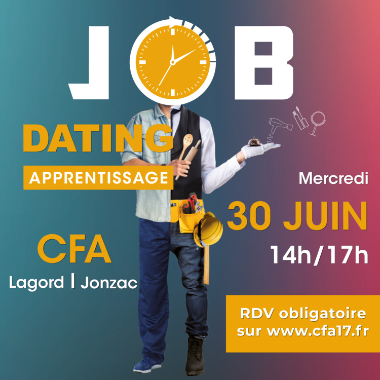 Jobdating Alternance à La Rochelle et Jonzac – 30 juin