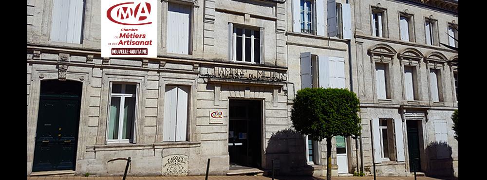 La CMA Nouvelle-Aquitaine - Charente