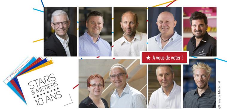 """Prix « coup de cœur » du public """"Stars et Métiers"""" 2016"""