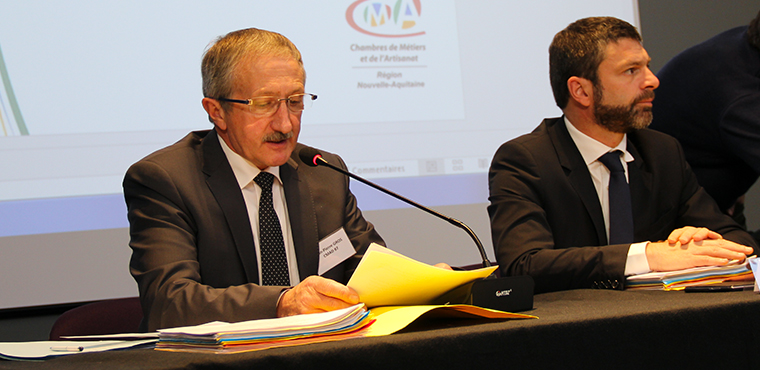 Le discours du Président Jean-Pierre GROS lors de l'AG constitutive