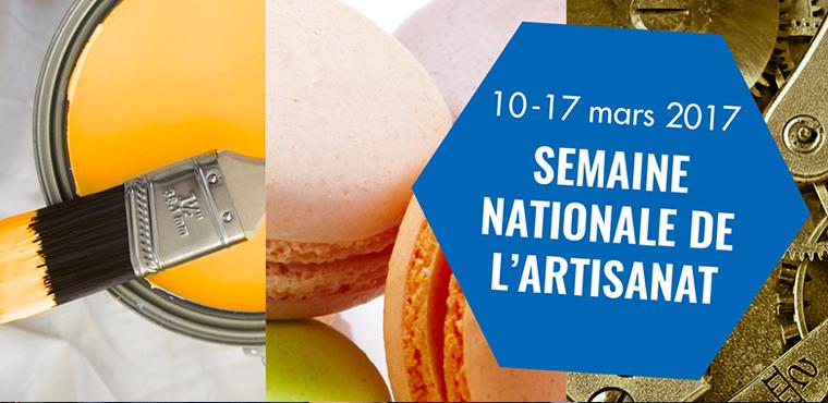 Semaine nationale de l'artisanat : 7 jours pour #choisirlartisanat