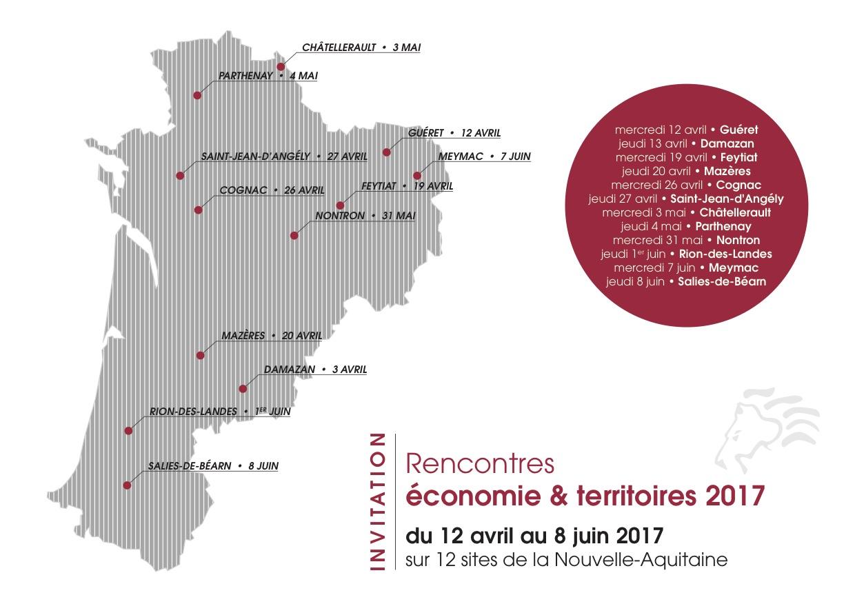 Participez aux Rencontres économie et territoires 2017