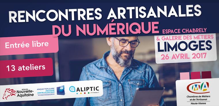 Les Rencontres Artisanales du Numérique à Limoges
