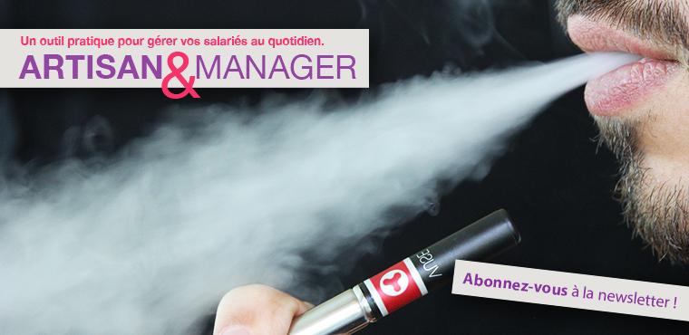 L'usage de la cigarette électronique au bureau bientôt interdite