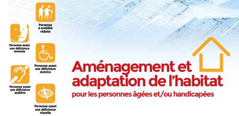 """Découvrez la nouvelle plaquette du CNISAM : """"Aménagement et adaptation de l'habitat"""" !"""