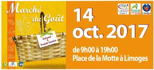 """Marché du Goût """"Place de la Motte"""" à Limoges"""