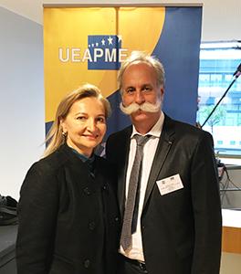 Bernard Stalter, président de l'APCMA, élu Vice-Président de L'UEAPME