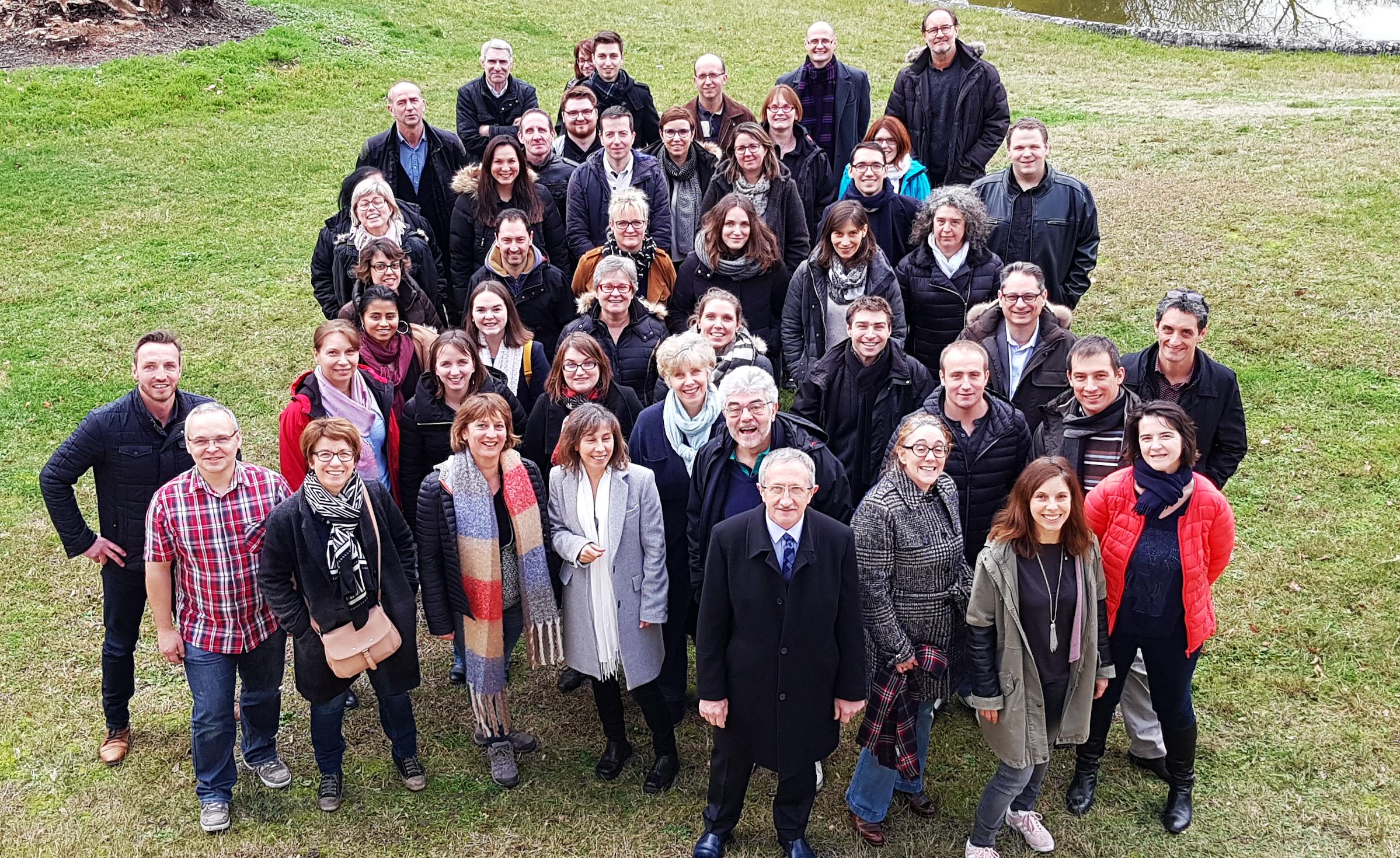 Les collaborateurs de la CRMA réunis autour du projet de mandature