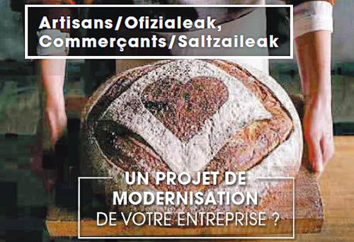 Opportunités pour les artisans d'Errobi et du pays d'Hasparren